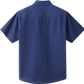 Logo Sanchi Short Sleeve Shirt by TRIMARK