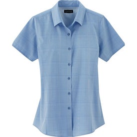 Monogrammed Sanchi Short Sleeve Shirt by TRIMARK