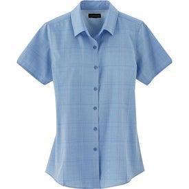 Monogrammed Sanchi Short Sleeve Shirt by TRIMARK