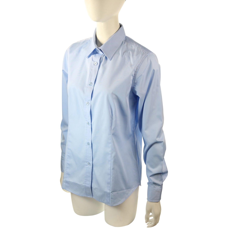 007790ce885 Ladies Long Sleeve Denim Shirt