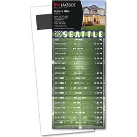 Football Schedule Magnetic Stick Up Cards (0.01