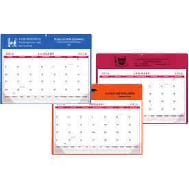 Calendar Doodle Pad with Grommet and Greeting Page (Non-Stock Colors)