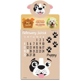 Press N Stick Paws N Claws Calendar Pad