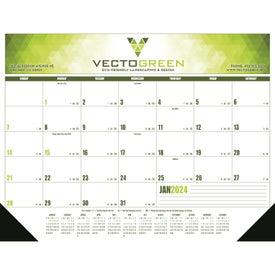 Multi-Color Desk Pad Calendar (2017, Grid Type A)
