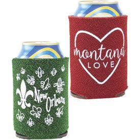 Glitter Can-Tastic Neoprene Can Cooler