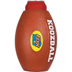 Koozball Combo Football and Can Holder
