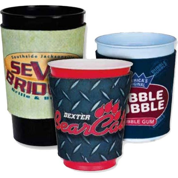 Full Color Imprint Party Cup Sleeve