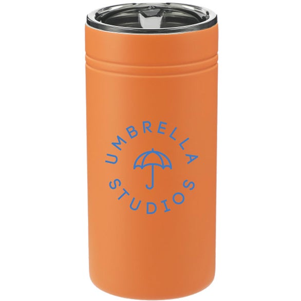 Autumn Orange Sherpa Vacuum Tumbler and Slim Can Insulator