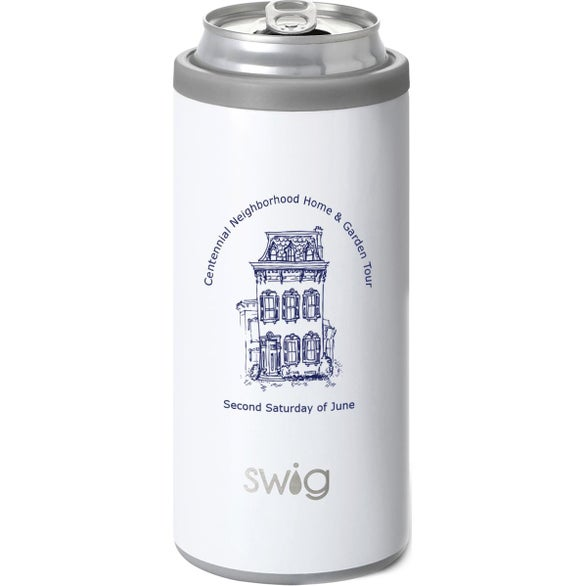 Diamond White Swig's Skinny Can Cooler