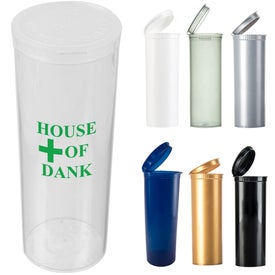 Pop Top Dram Containers (0.4938 Oz.)