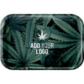 Small Rolling Trays (Full Color Logo)