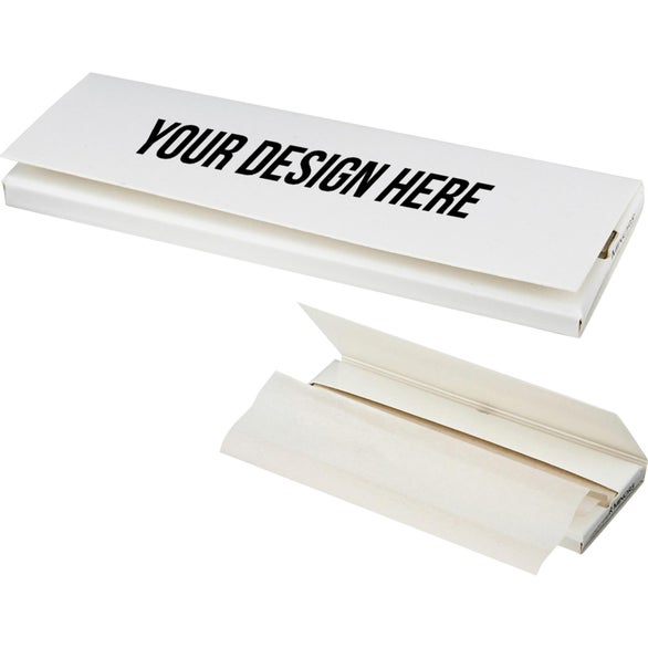 White Unbleached Hemp Rolling Paper
