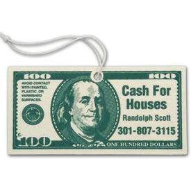 100 Dollar Bill Shaped Air Freshener