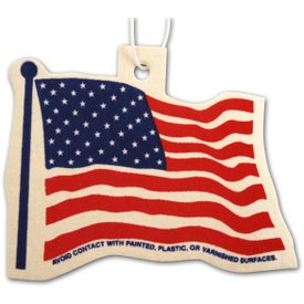 Flag Shaped Air Freshener