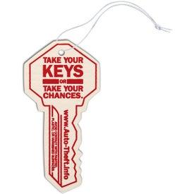 Key Shaped Air Freshener