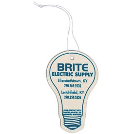 Light Bulb Shaped Air Freshener