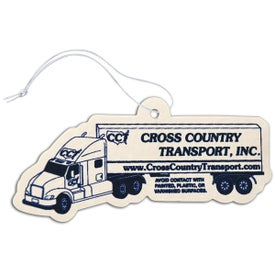 Semi Truck Shaped Air Freshener