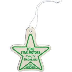 Star Shaped Air Freshener