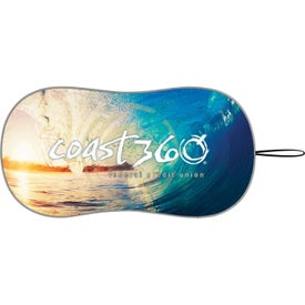 Prest-O-Shade Single Loop Contoured Shades (Full Color Logo, Full Color Imprint)
