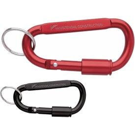 Keyring Carabiner with Lock
