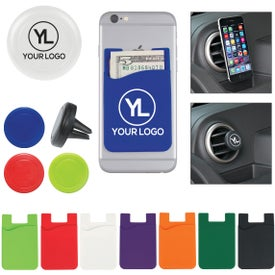 Auto Air Vent Phone Mount and Magnetic Phone Wallets