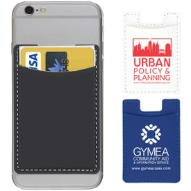 Executive Leatherette Cell Phone Wallet