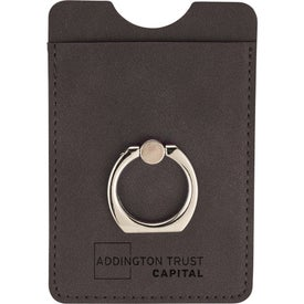RFID Premium Phone Wallets with Ring Holder
