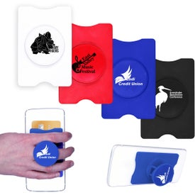 RFID Stand-Out Phone Card Holders (Screen Print)