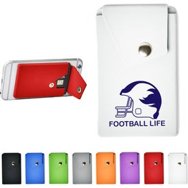 Silicone Phone Pocket and Wallet with Stand