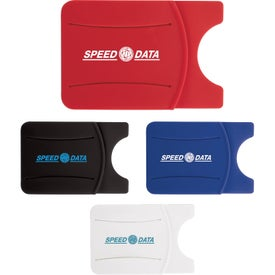 Silicone Phone Wallet with Finger Grip