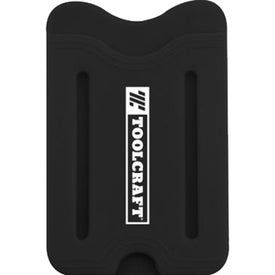 Silicone Wallets with Finger Slot