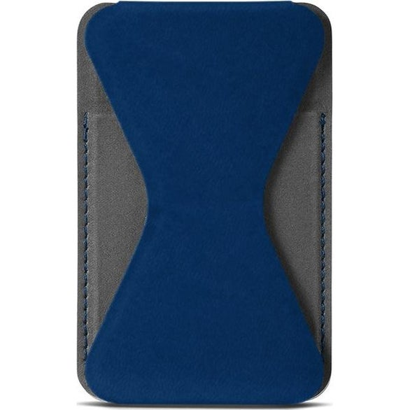 Navy Blue Tuscany Magnetic Card Holder Phone Stand