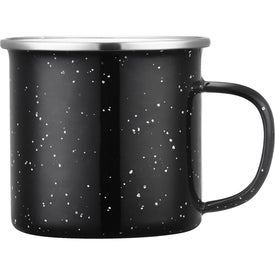 Enamel Camp Cups with Stainless Rim (16 Oz.)