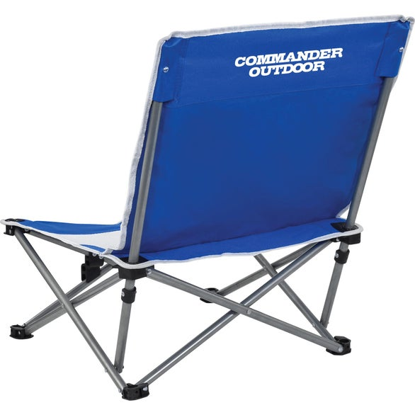 Royal Blue Mesh Beach Chair
