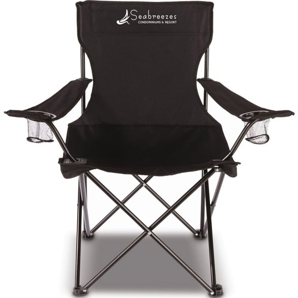 Black Travel Value Chair