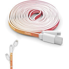 10 Foot Branded Triple Tip Cables