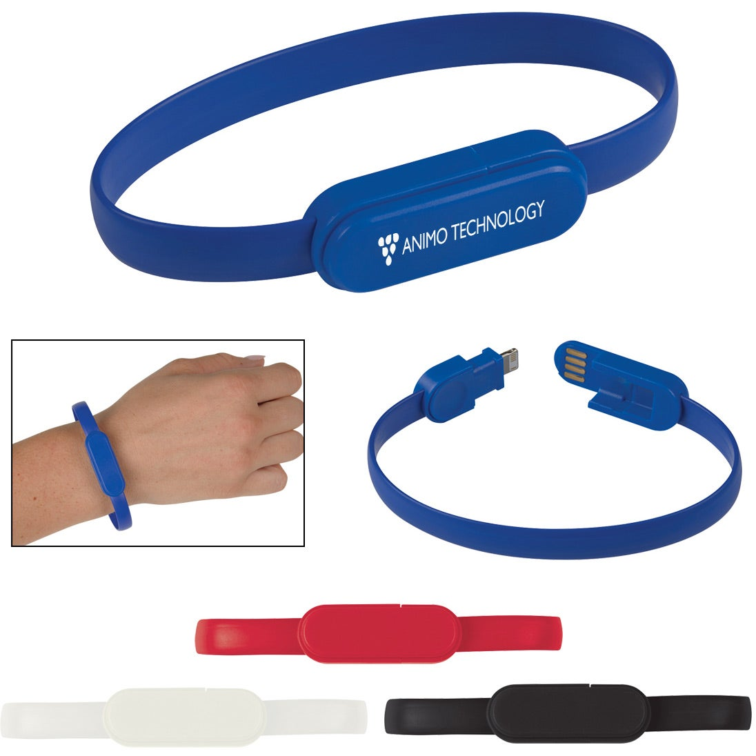 2-In-1 Connector Charger Bracelet