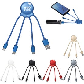 3-In-1 Xoopar Octo-Charge Cables