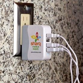 4 Port AC to USB Adaptor