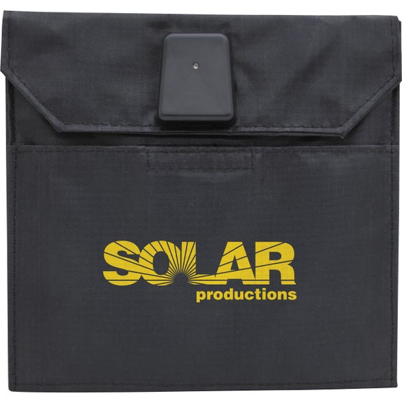 Black 5W Foldable Solar Charger