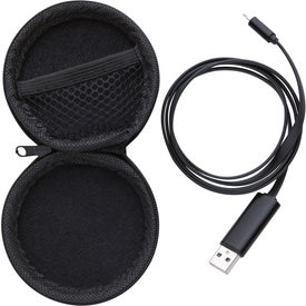 Dual Charging Cable with Tech Case