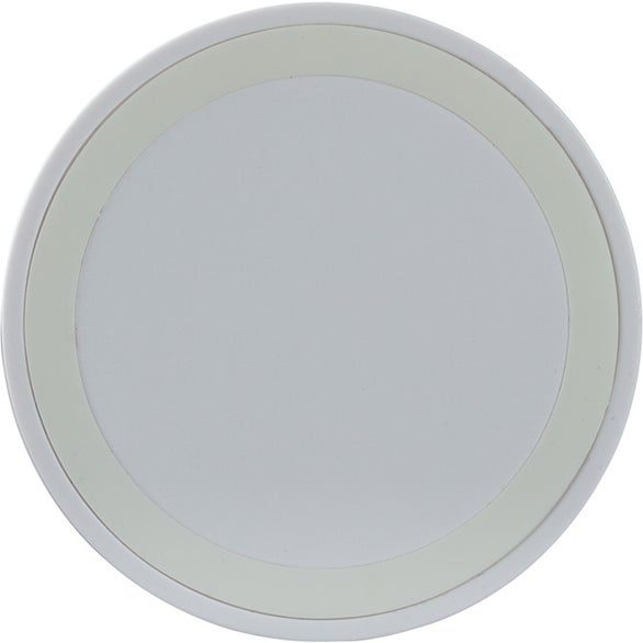 White Grayslake Color Ring Wireless Charger