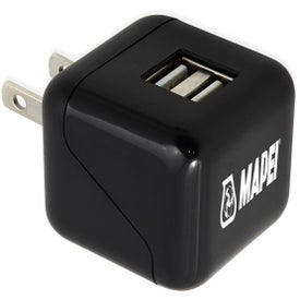 Simport ETL Certified 2-Port Wall Charger XL