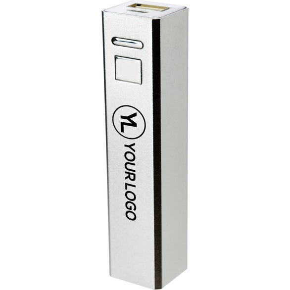 Silver iBoost-Exec Mobile Charger with Gift Box