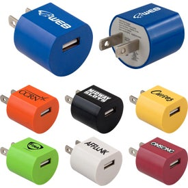 Lightweight USB Wall Chargers (UL Listed)