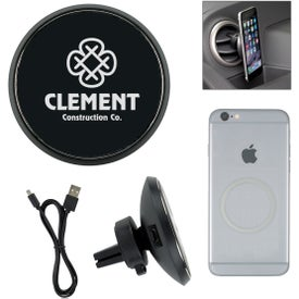 Magnetic Car Vent Wireless Phone Charger