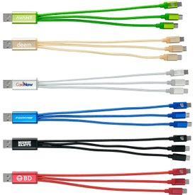 Metallic 3-in-1 Charging Cable
