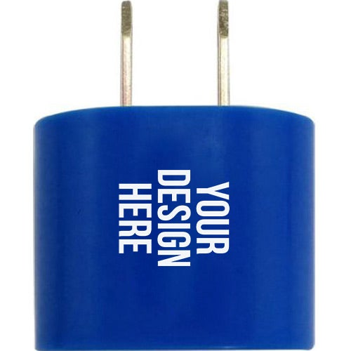 Blue Oval AC Charger Wall Adapter