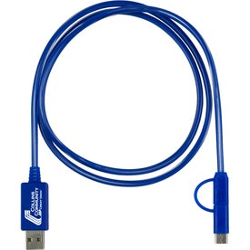 Payson 3-in-1 LED Lighted Charging Cable