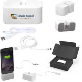 Powerbase Charging Station with MFI Cable